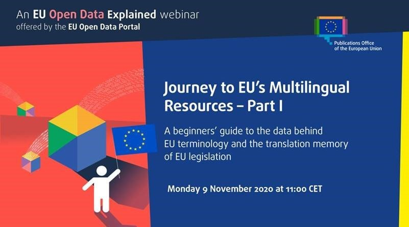 IATE at the EU Open Data Explained (ODE) webinar on 9 November 2020